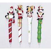 【ウインターフェアセール!】【クリスマス】【ボールペン】Xmas4種