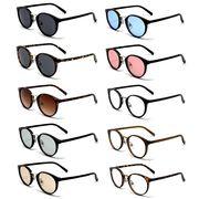 ★sunglasses&optical★  ボストン  プラスチックフレームにニッケル合金   サングラス【全9色】