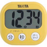 TANITA 〈タイマー〉でか見えタイマー TD-384-MY(マンゴーイエロー)