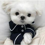 犬服 ペット服 ペット用品 4色 シャツ 春秋 パジャマ