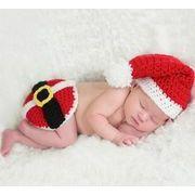 キッズ   ベビー 手作り 写真撮影道具 服 道具 可愛い ニット クリスマス帽子