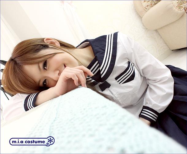 ■送料無料■中間服セーラーブラウス単品 サイズ:M/BIG 色:白 ■スノーセーラー■