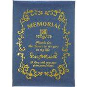 現代百貨 メモリアルメッセージブック ギフト (S) ネイビー