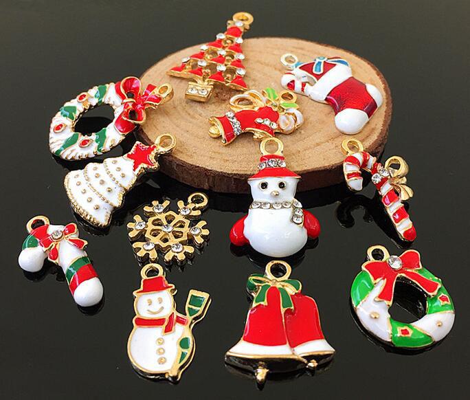 クリスマス クリスマスチャーム クリスマスネックレスパーツ