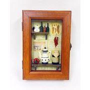 キッチン模型小物入れ収納ボックス  レトロ アンティーク風  収納ボックス  ヨーロピアン  インテリア