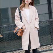 コート 無地 体型カバー ファッション r3001933