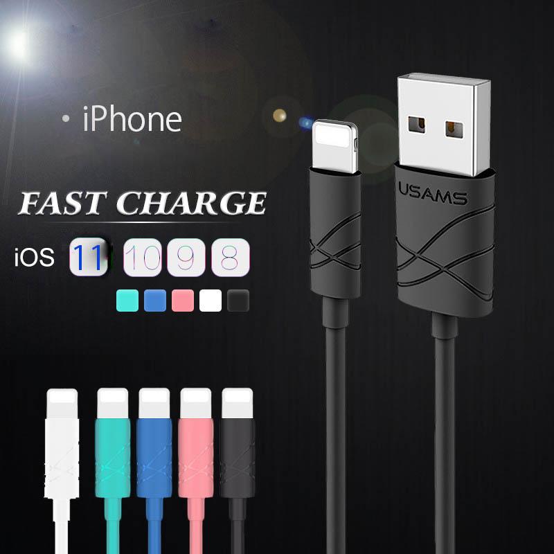 【一部即納】iPhone用 ケーブル 長さ 1 m 急速充電 充電器 データ転送ケーブル USBケーブル 充電ケーブル