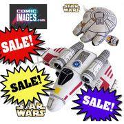 ★CLEARANCE SALE♪ Comic Images SW Plush Vehicles  13740