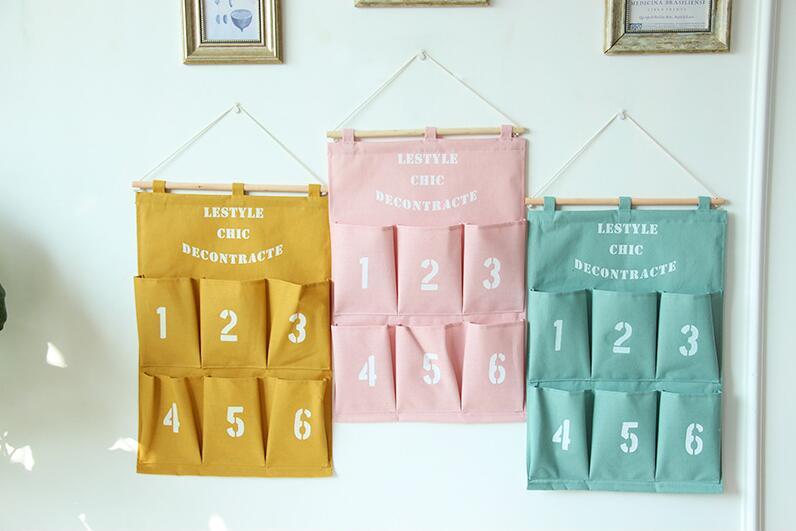ウォールポケット 年賀状や各種郵便物の整理に最適!壁掛けポケット