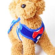 小型犬用 ハーネス 首輪 胴輪 リード 犬の服 ドッグウェア 犬服 リボン おしゃれ