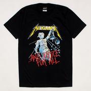 """ロックTシャツ Metallica メタリカ """"And Justice for All"""""""