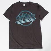 ヴィンテージ風 ロックTシャツ The Strokes ザ ストロークス エンブレム