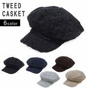 キャスケット 帽子 メンズ レディース 秋 冬 ウール 混 ツバ付き キャップ キーズ Keys