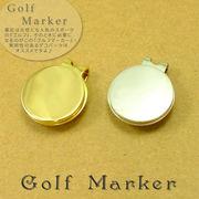 女子にも人気の『ゴルフ』 デコ用ゴルフマーカー クリップタイプ デコパーツ・デコ土台に!【デコ】