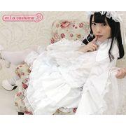 ■送料無料■マリアドレスホワイト サイズ:M/BIG 色:白