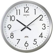 SEIKO セイコー 掛け時計 電波 アナログ オフィスタイプ 金属枠 KS266S