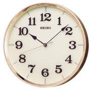 SEIKO セイコー 掛け時計 電波 アナログ 銅色 KX221G