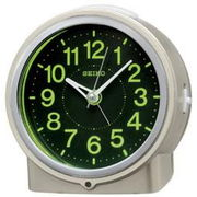 SEIKO セイコー 目覚まし時計 自動点灯 アナログ 集光樹脂文字板 夜でも見える KR886G