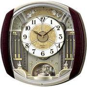 SEIKO セイコー 掛け時計 電波 アナログ からくり 6曲メロディ 回転飾り RE564H