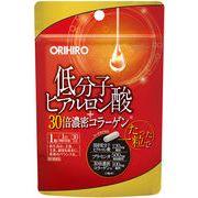 オリヒロ 低分子ヒアルロン酸+30倍濃密コラーゲン