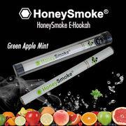 使い捨て電子タバコ・ハニースモーク(Honey Smoke)・グリーンアップルミント味