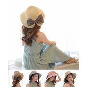 UVカット UV 紫外線対策 帽子 レデイース 子供帽子 つば広
