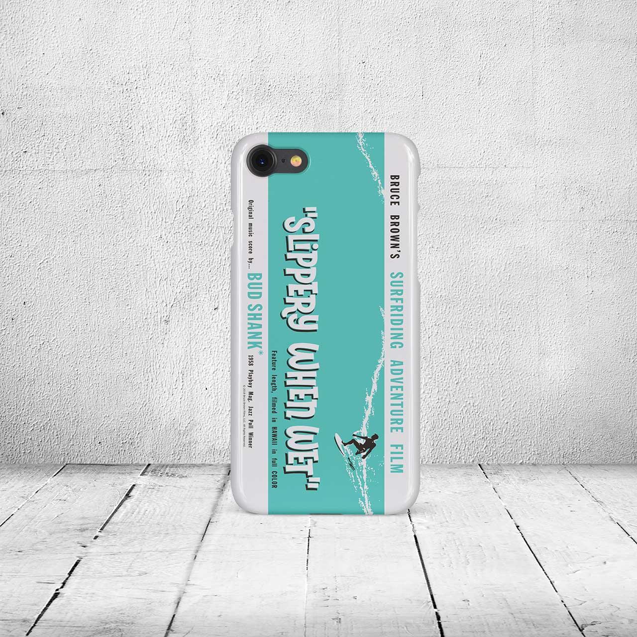 【ブルース・ブラウンフィルム】iPhone7 & 8ケース・Slippery When Wet (スリッパリーウェンウェット)