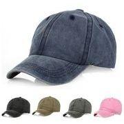 春夏新作 コットンロールキャップ ヴィンテージ帽子 ユニセックス UVカット 紫外線対策