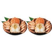 北海道産 ボイル毛蟹 半むき身(1.4kg)