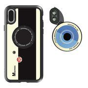 Revolver M6 Len Kit 6in1 iphoneX -IPLAYBOX ZTYLUS スピードレンズカメラ切り替え Retro Camera