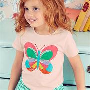 ヨーロッパ向けデザイン高級子供服ブランド W.L. Monsoon キッズ 半袖Tシャツ