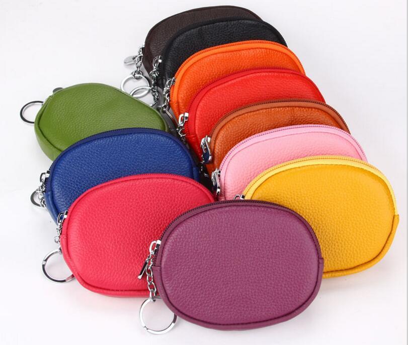 コインケース 小銭入れ 楕円形 カードケース 小さい財布 レザー 便利