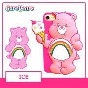 雑誌掲載【Care Bears】 [iPhone8対応] iPhone7 6s 6 3Dシリコンケース (ICE)