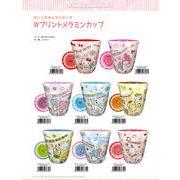 サンリオキャラクターズ Wプリントメラミンカップ
