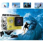 アクションカメラ スポーツカメラ 170度広角レンズ30M防水バイク/自転車/車などに取り付け可能900mAH電池
