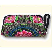 モン族刺繍財布(Wファスナー)1101293