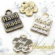 "▼SALE▼L&A Original Parts★ハンドメイドチャーム★K16GP&金古美★♪168 ""Handmade"""