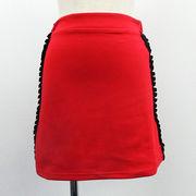 【2018春夏新作】ポンチ フリルライン スカート