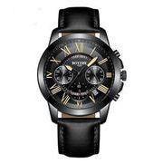 送料無料 bz メンズ クロノグラフ カレンダー腕時計 b-21