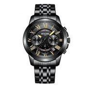送料無料 bz メンズ クロノグラフ カレンダー腕時計 b-23