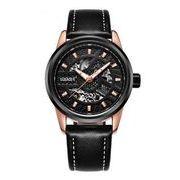 送料無料 OB メンズ スケルトン ビジネス 自動巻き 腕時計 ob-7