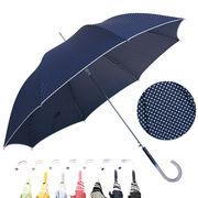 [60cm]傘 婦人傘 ジャンプ傘 水玉 ドット柄