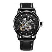 送料無料 OB メンズ スケルトン ビジネス 自動巻き 腕時計 ob-1