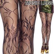 MusicLegs(ミュージックレッグス) フローラルブーケストッキング/タイツ ML50036