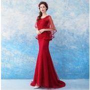 エンジェル ウェディングドレス パーソナリティクイーン スタイル レッド ブライド ウェディングドレス