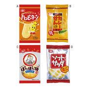 (低額ノベルティグッズ)(低額食品(1000円以下))亀田製菓 1枚 おせんべい商品