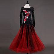社交ダンスドレス/ モダンドレス ラテンドレス 競技ドレス 184