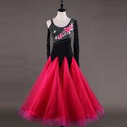 社交ダンスドレス/ モダンドレス ラテンドレス 競技ドレス 187