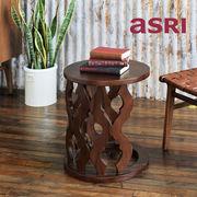 Carved Sable-Set カーブドサイドテーブルセット ※商品はAB2個セットとなります。