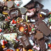【福袋 数量限定】約100個入 チョコレート 高品質 アクセサリーパーツ